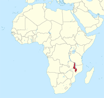Map for Malawi Information Directory